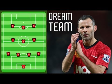 Giggs' Man Utd dream team