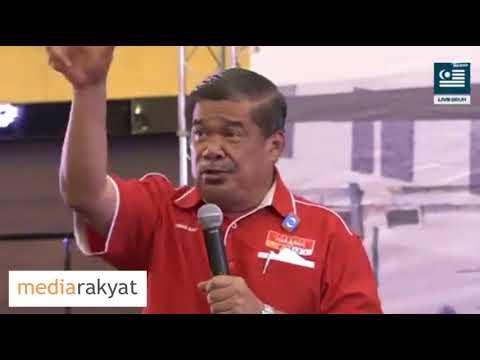 Mat Sabu: Sekarang Bukan Tsunami Cina, Bukan Tsunami India, Tapi Tsunami Rakyat Malaysia