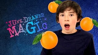 Levitating Fruit Trick & Move a Pen with Your Mind | JUNK DRAWER MAGIC