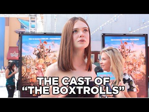 The Boxtrolls Red Carpet Premiere Interviews