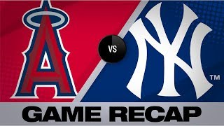 Homers help Yankees clinch division | Angels-Yankees Game Highlights 9/19/19