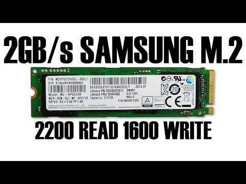 Samsung SM951 M 2 SSD Review The Secret SSD