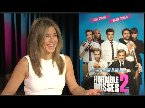 Jennifer Aniston interview - Horrible Bosses 2, Cake, Friends