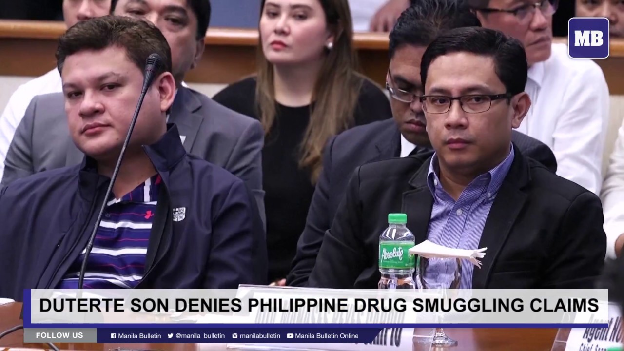 Duterte son denies Philippine drug smuggling claims