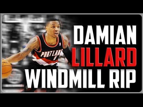 Damian Lillard Windmill Rip: Basketball Move