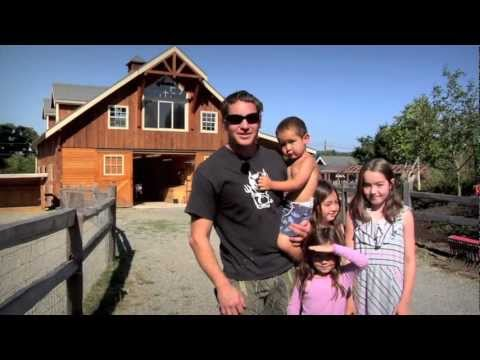 Barn Pros - Denali 36 Gable Horse Barn & Tradesman 36 Shop