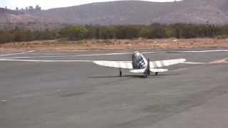 P47#39, Flight Video, 2nd Flight, Ground Camera