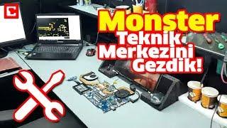 Monster Notebook Teknik Merkezini Sizin İçin Gezdik!