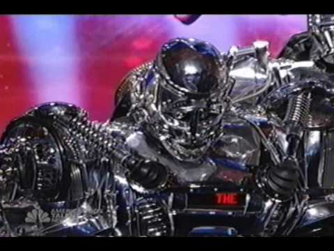American Got Talent - the Robot Band - NBC 4  2009 Music Videos