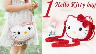 How to Crochet Bag: Kitty bag 1/4