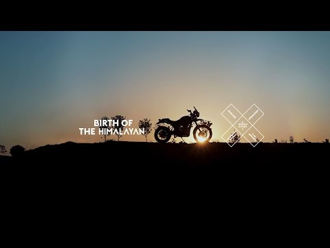 THE ROYAL ENFIELD HIMALAYAN UNVEIL