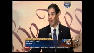Senator Rubio Addresses the Faith & Freedom Coalition Conference