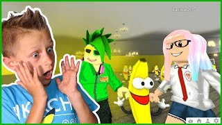 Banana Men INVADES Our House at 3AM