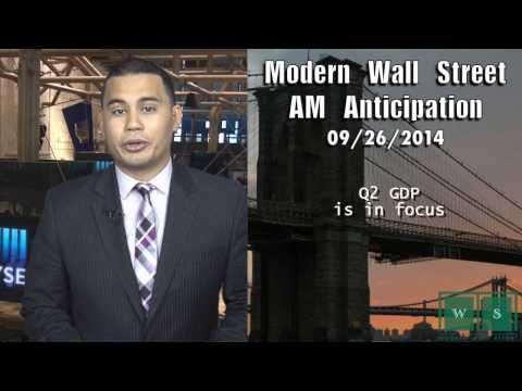 AM Anticipation: Futures rise, Q2 GDP awaits, Blackberry earnings to come