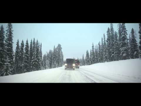 Work vans drift on ice: 2014 Arctic Van Challenge