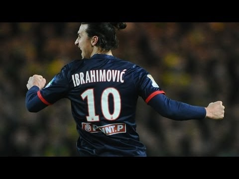 Best of Zlatan Ibrahimovic | Goals and skills in Ligue 1 | 2012-1014