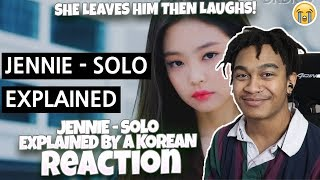 Anthony Reacts to JENNIE - SOLO Explained by a Korean