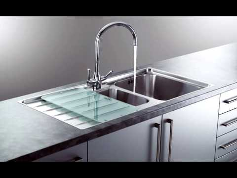 Franke Sink Installation : How Easy to Install a Franke Laser Sink - YouTube