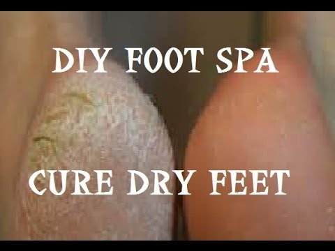 Affordable DIY Foot Spa   Cure Dry Damaged Feet