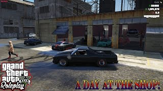 A DAY AT THE SHOP | FUNNY MOMENTS | WILD SIDE RP