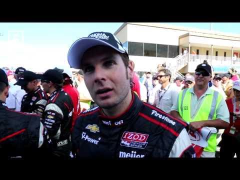 RACER: Will Power Sonoma Winner 2013