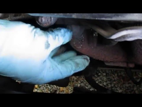 How to repair a hole in an exhaust manifold