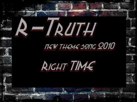 ●R-Truth● NEW Theme Song 2010 Right Time ● ||CLEAN & Looped...