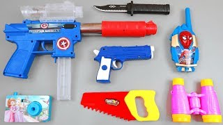 Toy Guns and Weapons   Plastic Toys with Many Colors for children