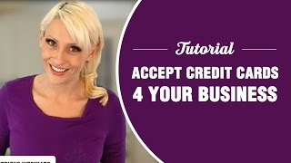 How to accept credit cards - BEST TUTORIAL
