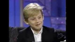 MACAULAY CULKIN  Interview 1991