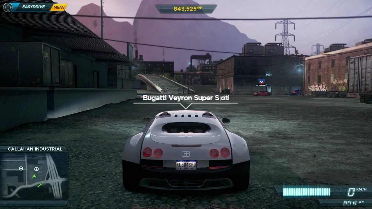 need for speed most wanted 2012 how to get the bugatti veyron youtube. Black Bedroom Furniture Sets. Home Design Ideas
