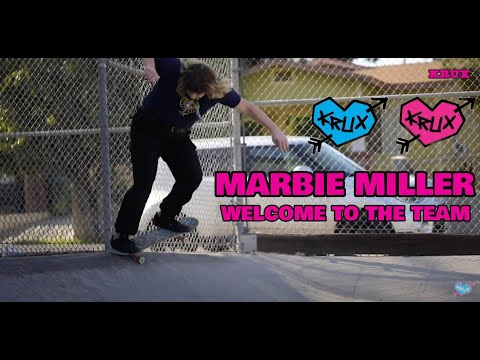 When Krux Introduces You To Their Mom! Marbie Miller's Welcome To The Team! | Krux Trucks