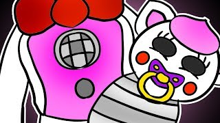 Minecraft Fnaf: Funtime Foxy Has A Baby (Minecraft Roleplay)