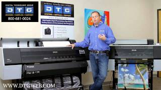 A detailed look at the Epson 7900 and 9900 printers