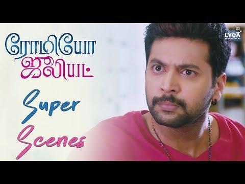 Jayam Ravi Undergoes Make Over - Romeo Juliet   Scene   Lyca Productions