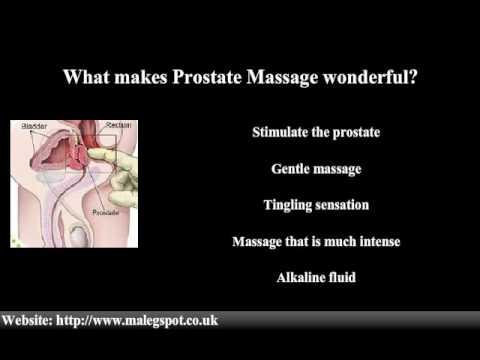 prostate massage cancer prevention reduce