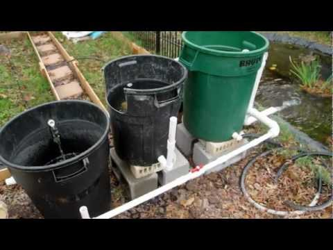 Cheap DIY Bio Pond Filter that WORKS!!!