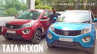 TATA Nexon | Music System | Features | Detailed review | Price | best car in This segment!!!