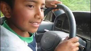 9 YEAR OLD BOY DRIVES 4WD OFF ROAD