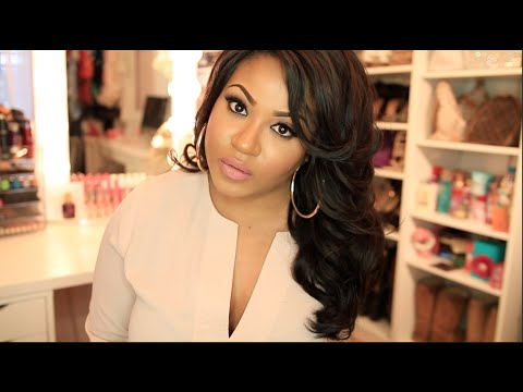 Big Hair With Hot Rollers + Valencia Rose Indian Hair! video