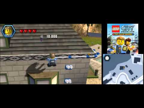LEGO City Undercover (3DS): The Chase Begins - Walkthrough Part 1 - Intro & First Missions