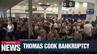 Thomas Cook bankruptcy leaves tens of thousands stranded at airports, 21,000 people without jobs
