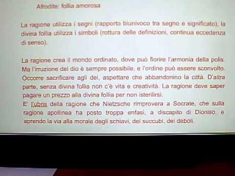 """Commento a """"Il Simposio"""" di Platone: follia eros e ragione (parte3)"""