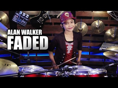 download lagu Alan Walker - Faded Drum Cover By Nur Am gratis