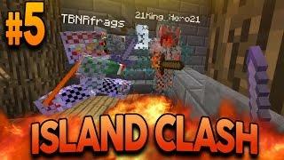 "Minecraft ISLAND CLASH: EPISODE 5 ""STRAIGHT SAVAGERY"" w/ Preston and MrWoofless"