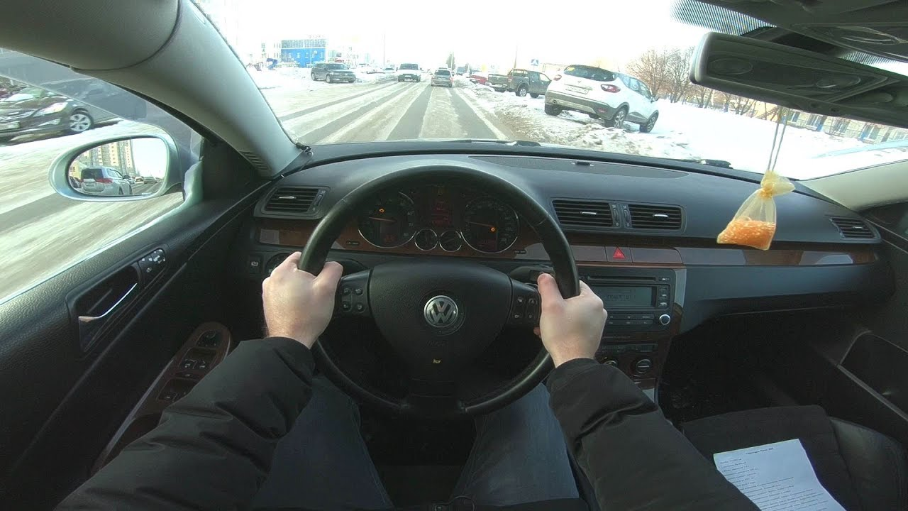 2005 VOLKSWAGEN PASSAT 2.0 FSI (150) POV TEST DRIVE