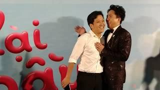 Trấn Thành mời Trường Giang, Hà Hồ, Kim Lý, Lam Trường, Cẩm Ly đến dự ra mắt phim Cua lại vợ bầu