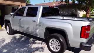 2014 GMC Sierra Rough Country leveling kit. Leveled 2.5 inches