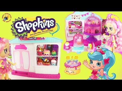 ШОПКИНС 4 сезон! Королевское кафе капкейк Игровой набор  Shopkins Season 4 Queen Cafe Cake Playset