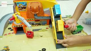 Wheels on the bus go round and round Tayo Bus Construction Site Gumball 🚀 MonTv ToysReview 🚀